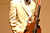 Cuban guitarist Ahmed Dickinson